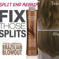 Corrects and treats nasty split ends to make them look and feel healthy again.